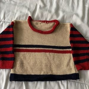 Other - Beautiful hand knit boy's sweater- never used
